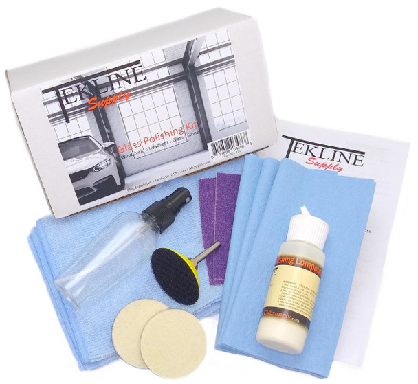 Glass Polishing Kit