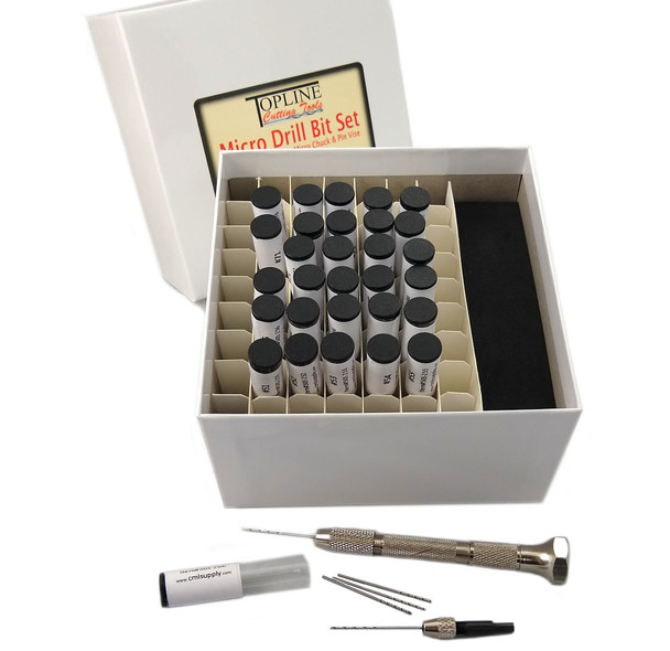 TopLine Micro Drill Bit Set