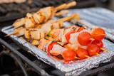 Slavo's Grilled Scallop & Shrimp Skewers