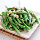 Slavo's Green Bean Almondine