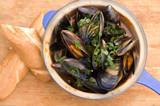 Slavo's Borracho Mussels