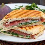 Slavo's Grilled Cheese with Prosciutto and Arugula