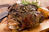Slavo's Easter Roasted Lamb with Potatoes and Artichokes