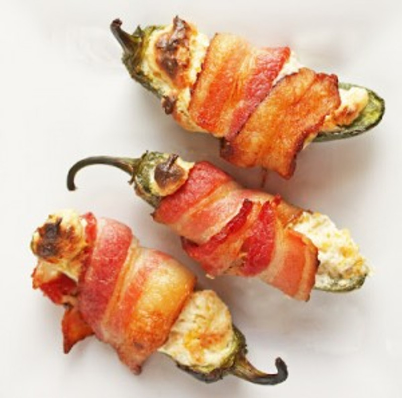 Slavo's Grilled Bacon Jalapeño Poppers