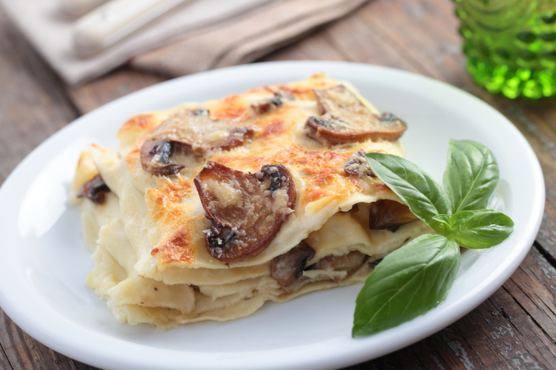 Slavo's Shroom & Swine Lasagna