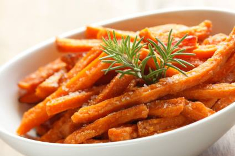 Slavo's Herbed Sweet Potato Fries