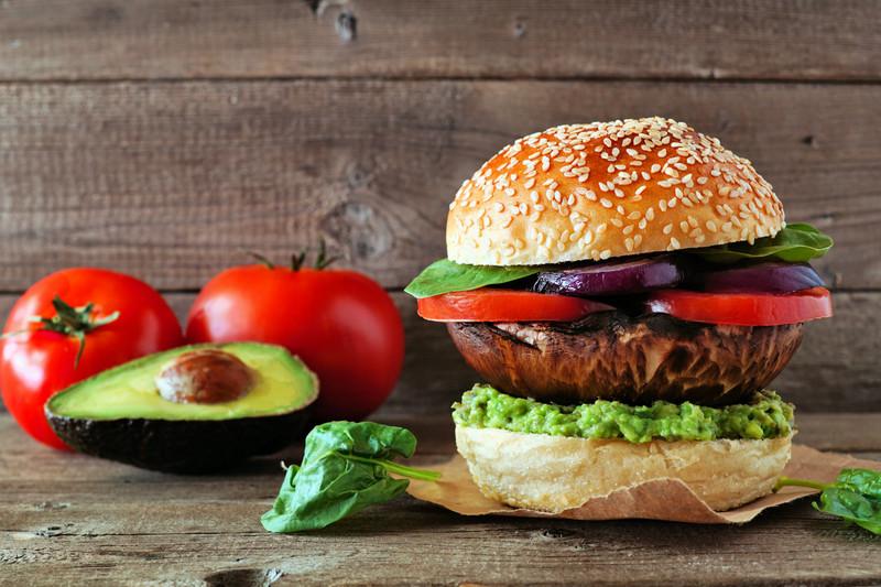Slavo's Portobello Burgers