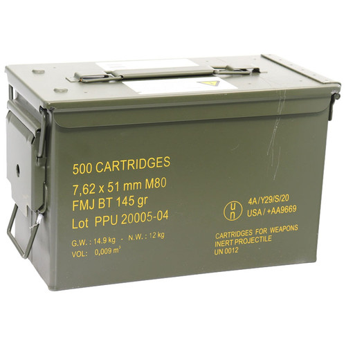 500 (Includes Ammo Can)