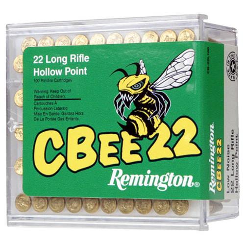 Remington CBee 22 22 LR, 33 gr, Plated Truncated Cone HP Rimfire Ammunition
