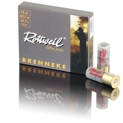 """Rottweil Extra Line Brenneke Classic 20 Gauge, 2-3/4"""", 7/8 oz, Brenneke Slug Ammunition"""