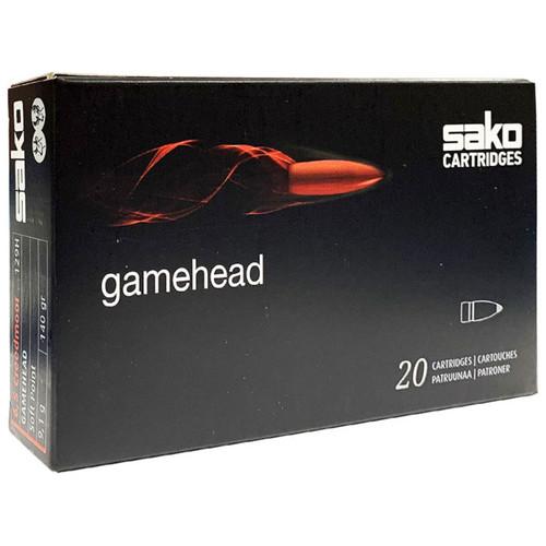 Sako Gamehead 6.5 Creedmoor, 140 gr, Soft Point Ammunition