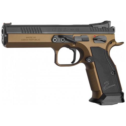 CZ TS 2 Deep Bronze Pistol