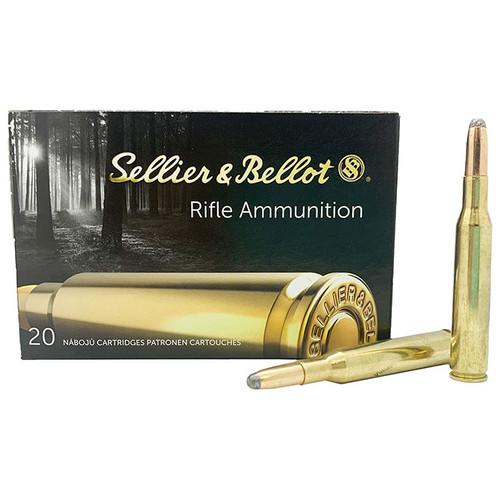 Sellier & Bellot Rifle 270 Win, 130 gr, Soft Point Ammunition
