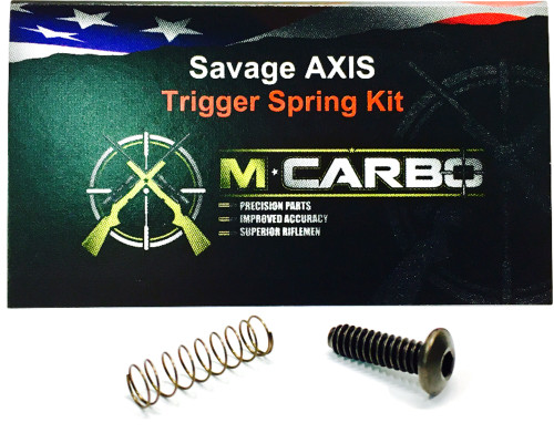 MCARBO Savage AXIS Trigger Spring Kit
