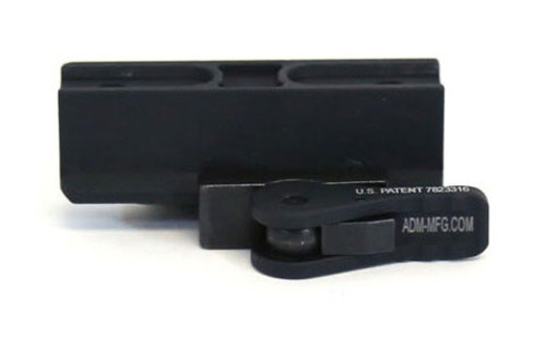 ADM Aimpoint CompM4 Mount - Lower 1/3 Co-Witness, Standard Aluminum Lever