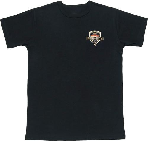 Calgary Shooting Centre Crest T-Shirt - Black