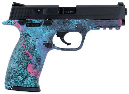 """S&W M&P22 Rimfire Handgun - CSC Custom, """"Cosmic Splash"""""""