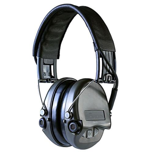 MSA Sordin Supreme Pro-IV Electronic Earmuffs - Black