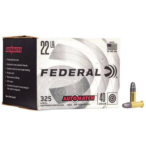 Federal Champion Training 22 LR, 40 gr, Lead Round Nose Rimfire Ammunition