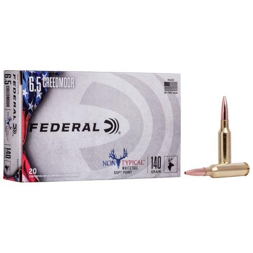 Federal Non-Typical 6.5 Creedmoor, 140 gr, NTSP Ammunition