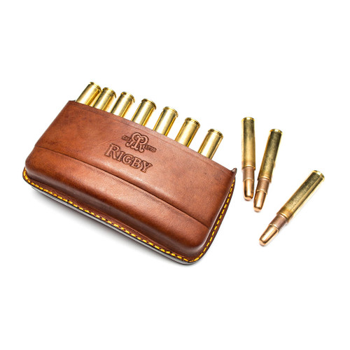 Rigby Leather Bullet Pouch - Quick Load