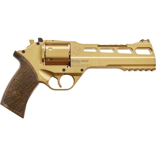 Chiappa Rhino Revolver 60DS - Gold PVD