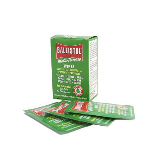 Ballistol Multi-Purpose Oil Wipes - 10 Pack