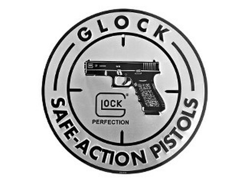 GLOCK Safe Action Aluminum Sign