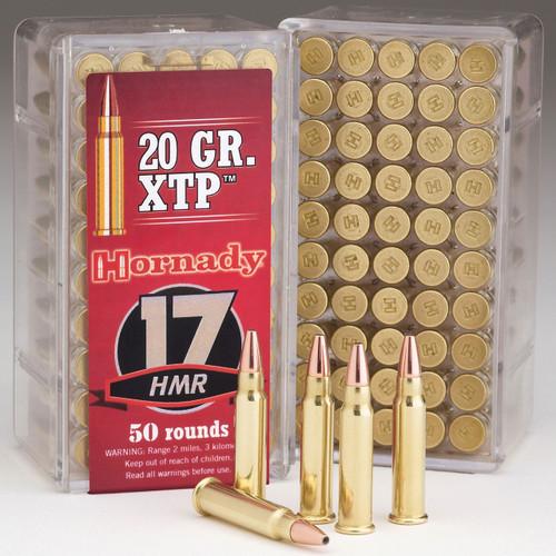 Hornady Varmint Express Rimfire 17 HMR, 20 gr, HP XTP Rimfire Ammunition