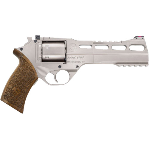 Chiappa Rhino Revolver 60DS - Nickel Plated