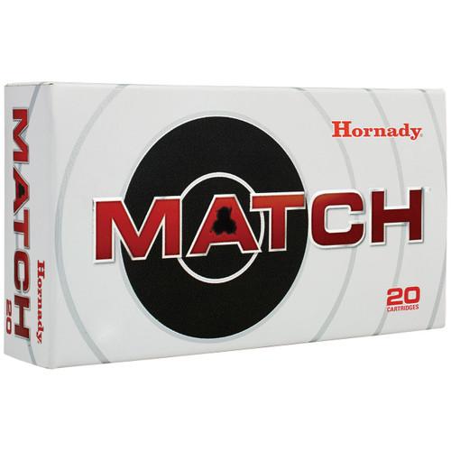 Hornady Match 338 Lapua Mag, 285 gr, ELD Match Ammunition