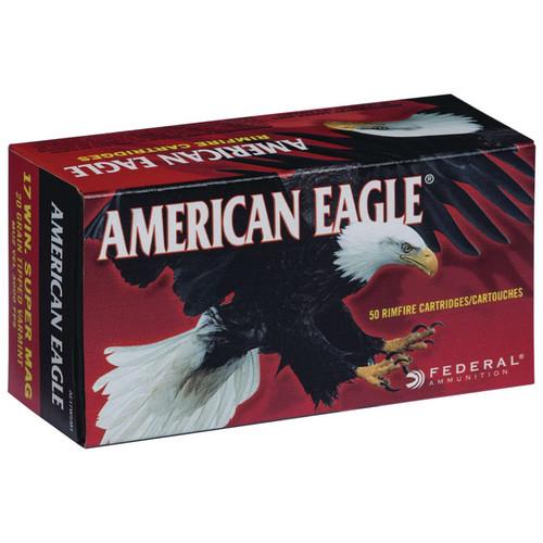 Federal American Eagle 17 WSM, 20 gr, Tipped Varmint, Rimfire Ammunition