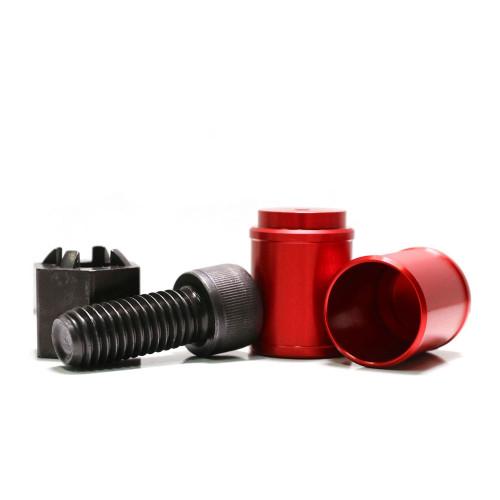 MCARBO KelTec KSG Hi-Vis Red Followers & Follower Nut Tool Kit Bundle