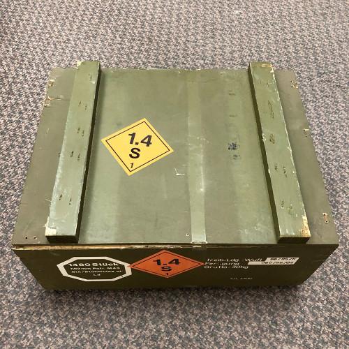 East German M43 7.62x39mm, 123 gr, FMJ, Lacquered Steel Case, Corrosive Surplus Ammunition