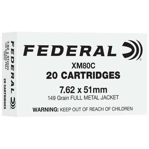 Federal American Eagle Rifle 7.62x51mm, 149 gr, FMJ Ammunition