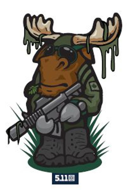 5.11 Tactical Canada Tactical Moose Velcro Patch