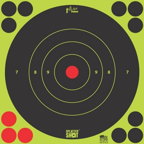 "Pro Shot Products SplatterShot Green Bullseye Target - 12""x12"""