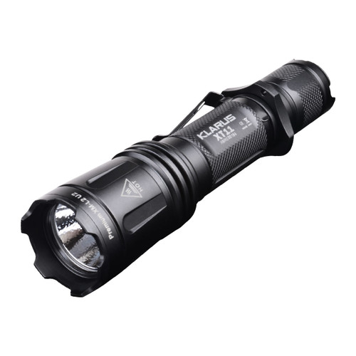 Klarus XT11 - Tactical & Weapon Mountable Flashlight with Dual Button Tactical Switch