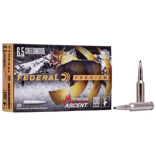 Federal Terminal Ascent 6.5 Creedmoor, 130 gr, TA Ammunition