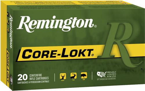 Remington CORE-LOKT Ammunition - 30-30 Win, 150gr, SP, 20 Rounds