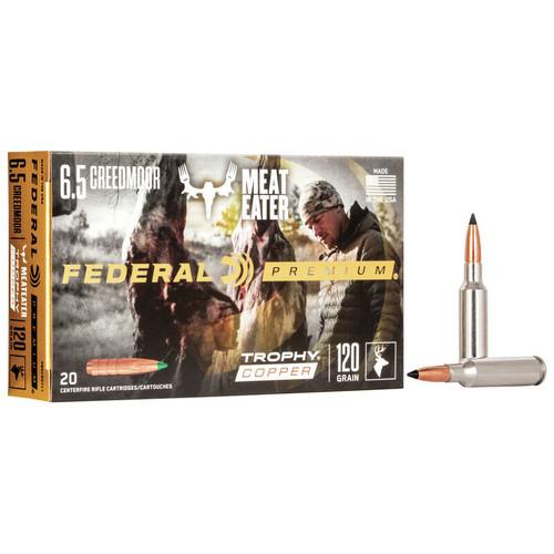 Federal Trophy Copper 6.5 CM, 120 gr, TC Ammunition
