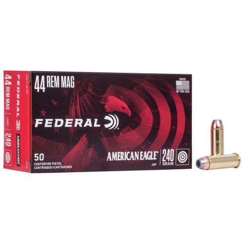 Federal American Eagle Handgun 44 Rem Mag, 240 gr, JHP Ammunition