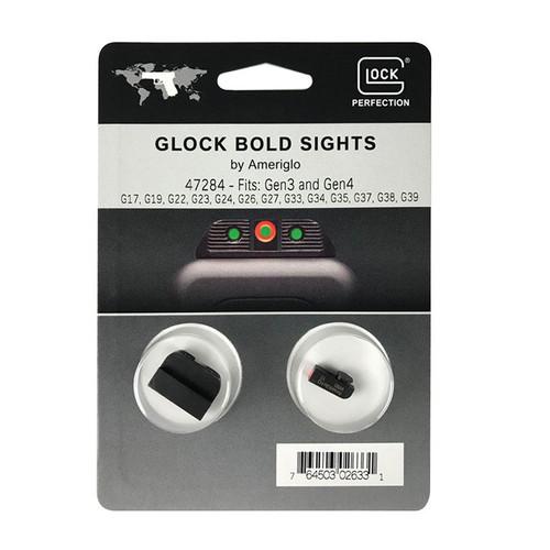 GLOCK AmeriGlo BOLD Sights - Gen3 / Gen4