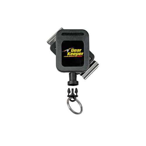 Gear Keeper Key Retractor, Medium Force 8-14 keys, Rotating Belt Clip