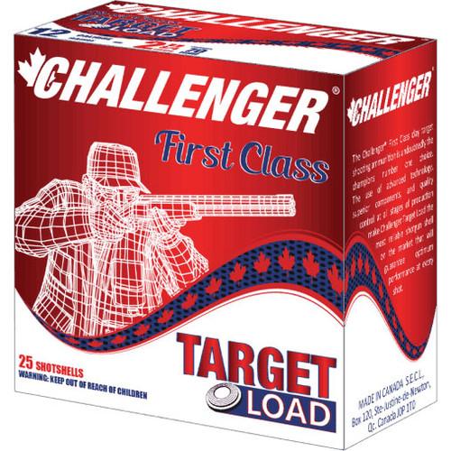 """Challenger Target Load Handicap Ammunition - 12 Gauge, 2-3/4"""", #8, 1-1/8 oz, 250 Rounds"""