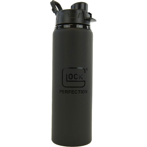 GLOCK Matte Black 28oz Sport Aluminum Bottle