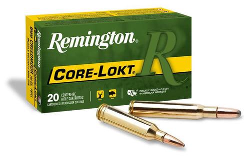 Remington Core-Lokt, .30-06 Spr, 220gr, SP, Centrefire Ammunition (20rds)