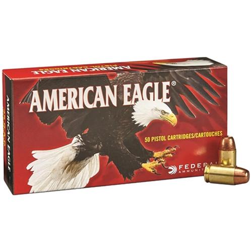 Federal American Eagle Handgun 45 GAP, 230 gr, FMJ Ammunition