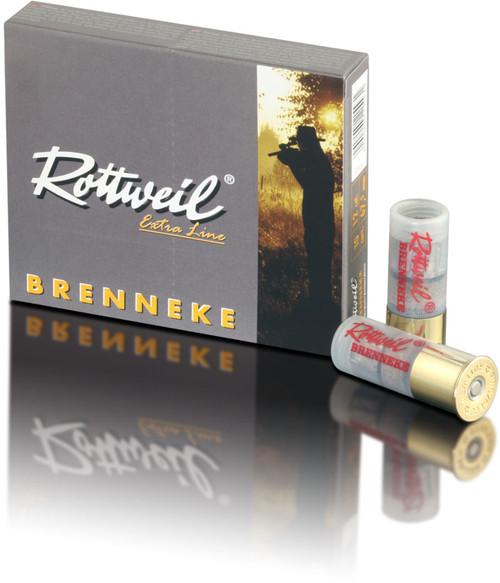 "Rottweil Extra Line Brenneke Classic Ammunition - 12 Gauge, 2-3/4"", 1-1/8 oz, Rifled Slug, 10 Rounds"