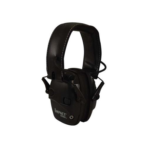 Honeywell Impact Sport Sound Amplification Electronic Earmuff - Black